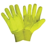 Cordova Hi-Vis Cotton Canvas Gloves, Large  2820CD