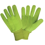 Cordova Yellow Green 100% Cotton/Canvas Large Gloves 2830CD