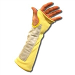 Cordova Cut Resistant Sleeve, Kevlar 2 Ply, Leather Reinforced, 3014TLP
