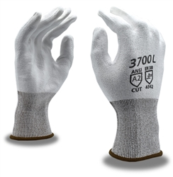 Cordova Palm Coated Cut Resistant Gloves, White 3700