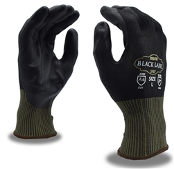 Cordova Cut Level Glove, Touchscreen, Black Label 3707
