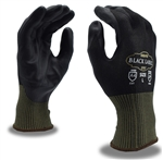 Cordova Cut Resistant Gloves, Touchscreen Fingertips, Black Label 3707
