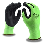 Cordova Cor Tex Hi Vis Lime Green Cut Resistant Gloves
