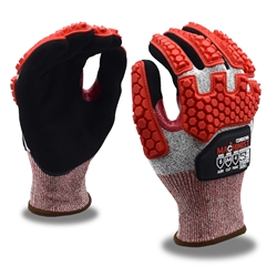 Cordova TPR Cut Resistant Gloves, Machinist 3734TPR