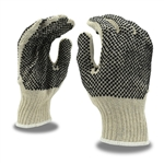 Cordova Knit Work Glove, 2 Sided PVC Dots 3855