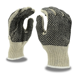 Cordova Machine Knit Work Glove, 2 Sided PVC Dots 3855