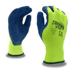 Cordova Hi-Vis Insulated Coated Gloves, Therma-Viz 3889