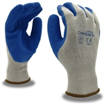 Cordova Blue Latex Palm Coated Glove, Cor-Grip 3896
