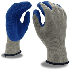 Cordova Knit Glove, Blue Latex Palm 3898