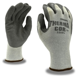 Cordova Gray Knit Gloves, Gray Latex Palm Coating 3899