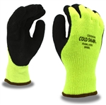 Cordova Hi-Vis Coated Winter Gloves Cold Snap 3999