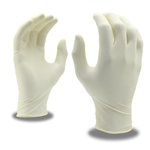 Cordova Disposable Powder Free Latex Gloves, Silver 4015
