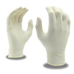 Cordova Latex Disposable Gloves, Powdered Silver 4020