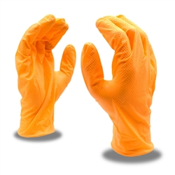 Cordova Nitrile Disposable Glove, Orange 4099