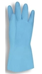 Cordova Lined Blue Latex Gloves, 18 Mil, 4260