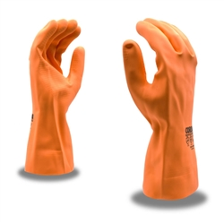 Cordova Premium Orange Neoprene & Latex Blend Gloves, 28 Mil, 12 Inch Length