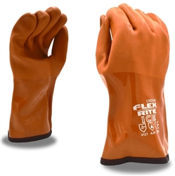 Cordova Flex Rite Ice Red PVC Thermal Gloves