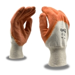 Cordova Ruffian Premium Orange Latex Dipped Large Gloves, 5618