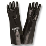 Cordova Chem-Cor Black Supported Neoprene Large Gloves 5818
