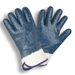 Cordova Supported Nitrile Gloves, Rough Finish 6860R