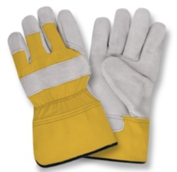 Cordova Gray Leather Palm Work Large Gloves 7205RY