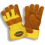 Cordova Side Split Leather Palm Work Gloves, Large