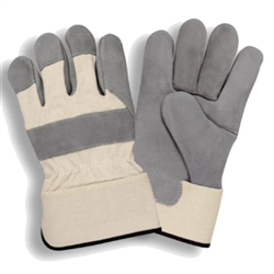 Cordova Leather Palm Work Gloves, Safety Cuff 7500