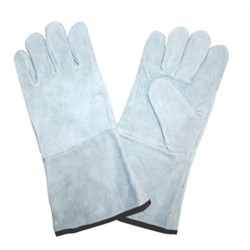 Cordova Light Gray Leather Welders X-Large Gloves 7600