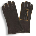 Cordova Black Shoulder Split Welders Large Gloves