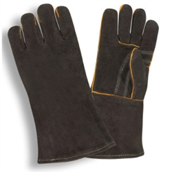 Cordova Welders Gloves, Black, Shoulder Split Leather, 7625