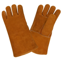 Cordova Leather Welders Gloves, XL, 7635