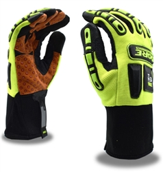 Cordova Leather Mechanic's Gloves, TPR Ogre 7700