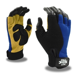 Cordova Fingerless Leather Glove, Grip Pit Pro 77771