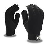 Cordova Mechanic's Gloves, Black Synthetic Leather, Pit Pro, 77871