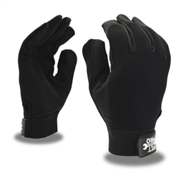 Cordova Pit Pro Black Synthetic Leather Mechanics Gloves