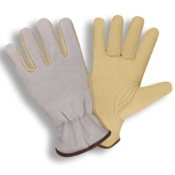 Cordova Gray Leather Driver's Glove 8230