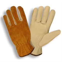 Cordova Golden Brown Split Driver Leather Glove 8231