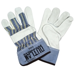 Cordova Leather Palm Gloves, Canvas Back, 8300