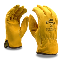 Cordova Oil & Cut Resistant Leather Gloves, Oil Demon GT, 8586K