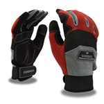 Cordova Mechanics Gloves, Touchscreen Fingertips Comfort Fit, 99101