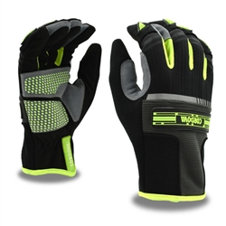 Cordova Hi-Vis Grip Mechanic's Glove, Touchscreen 99701