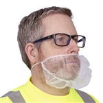 Cordova Beard Cover, White Nylon BN/10