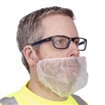 Cordova Disposable Beard Cover, White, BR1/10
