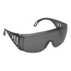 Cordova Gray Safety Glasses, Over Glasses EC20S