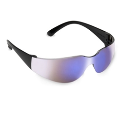 Cordova Bulldog Series Blue Mirror Safety Glasses, EHB60S