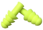 Cordova Hi-Vis Uncorded Ear Plugs, Reusable, EPRU01