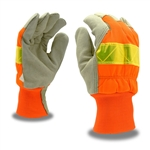 Cordova Hi-Vis Leather Winter Gloves, F8760