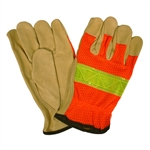 Cordova Hi-Vis Leather Glove, Pigskin F8805
