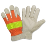 Cordova Hi-Vis Leather Gloves F8821