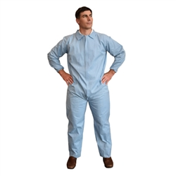 Cordova Flame Resistant Disposable Coverall, Size 4XL, Defender FRC150